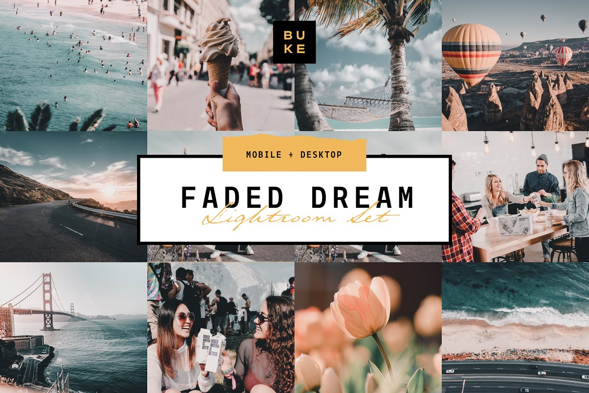 Faded Dream Lightroom Preset