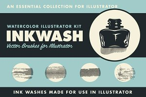 InkWash | Vector Ink Watercolors