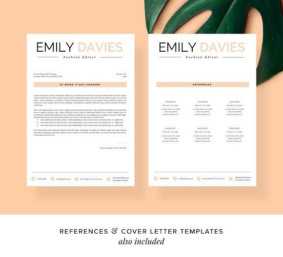 Resume Template 1 Page Davies
