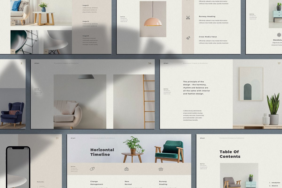Altair PowerPoint Brand Guidelines ~ PowerPoint Templates