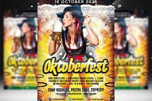 Oktoberfest Flyer Template 2