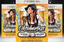 Oktoberfest Flyer Template 5