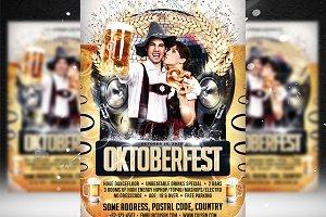 Oktoberfest Flyer Template 7