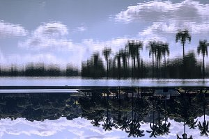Water Reflex | Clouds and Trees