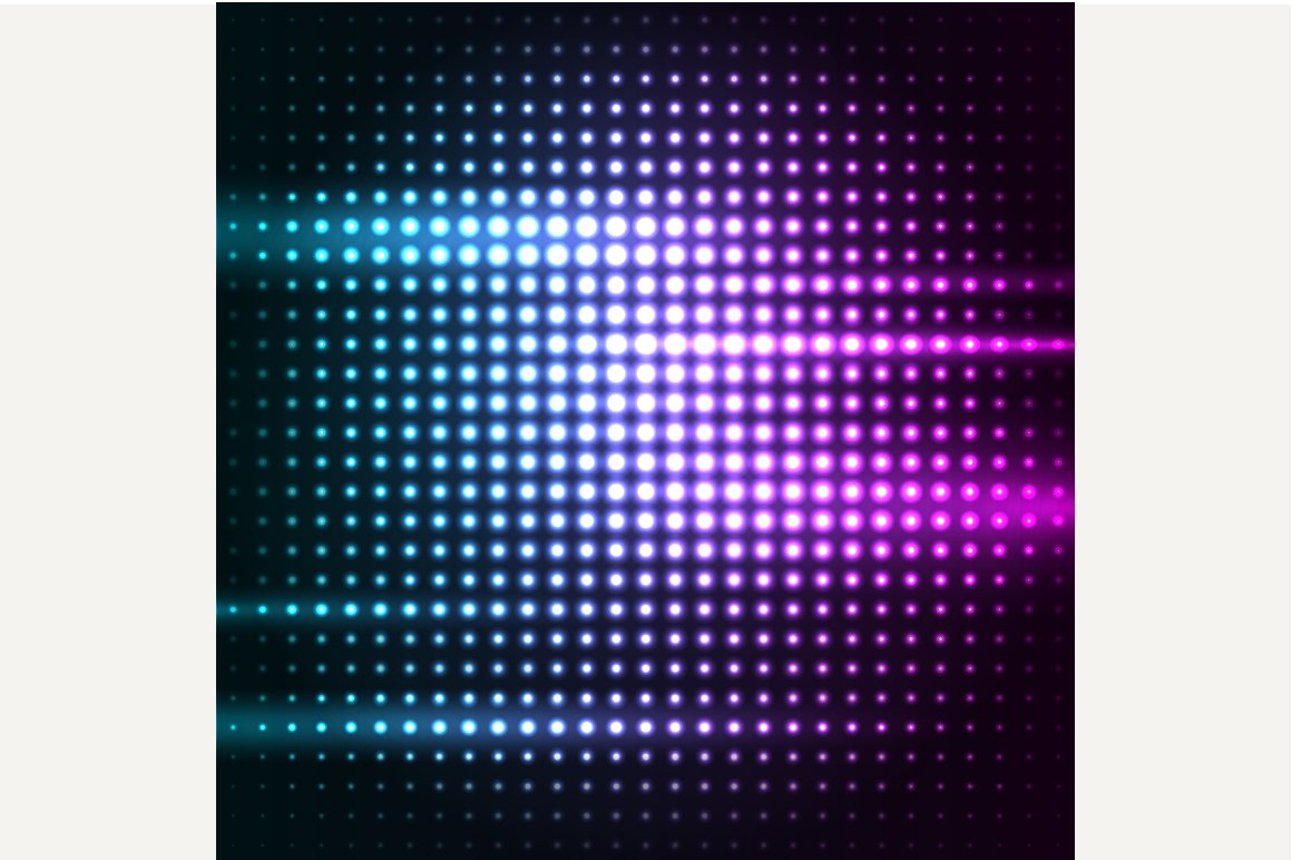 Abstract Colorful Disco Background Graphics Creative