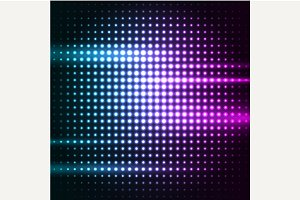 Abstract colorful disco background