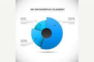 3D Infographic design