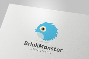 Blink Monster Logo