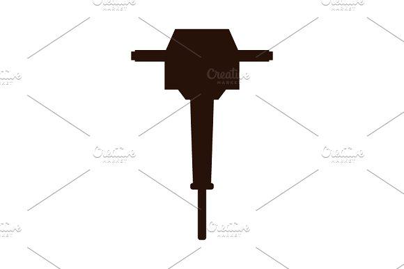 Jackhammer icon on pressure regulator schematic, rpd schematic, bulldozer schematic, pressure washer schematic, boost pedal schematic, generator schematic, excavator schematic, aqueduct schematic, bobcat schematic, trailer schematic, flashlight schematic, overdrive schematic, computer schematic, compressor schematic, ak-47 schematic, backhoe schematic, m4 schematic, simple distortion pedal schematic, joystick schematic, paver schematic,