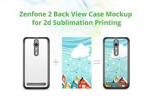 Zenfone 2 2dCase Design Mockup
