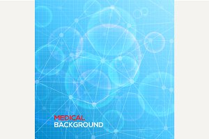 Medical abstract background.