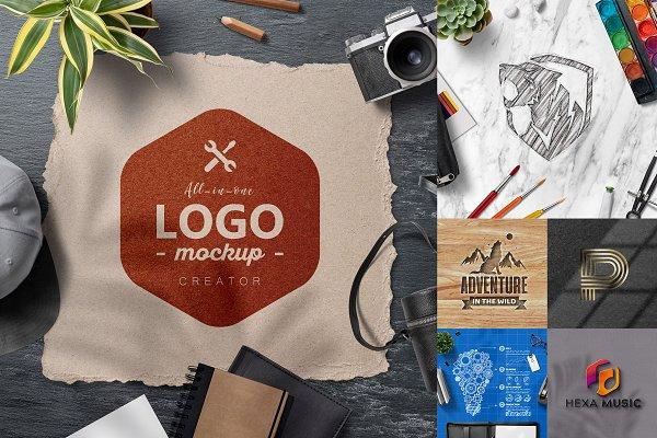 All-In-One Logo Mockup Creator