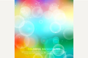 Abstract colorful soft background