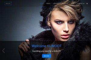 woot-Multipurpose Responsive WPTheme