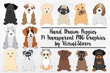 Puppy Illustrations - REVISED