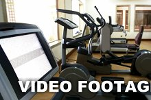Fitness center with exercise