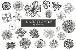 Magic flowers + bonus 6 patterns