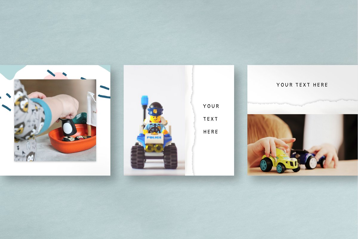 COLOR DREAMS Instagram Templates in Instagram Templates - product preview 1