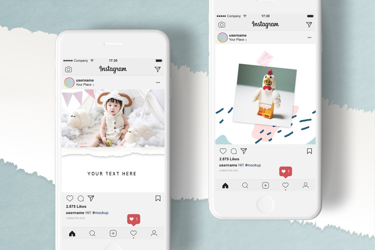 COLOR DREAMS Instagram Templates in Instagram Templates - product preview 6