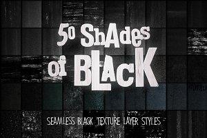 50 BLACK INK TEXTURES