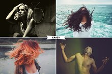 4 Crazy Photoshop Actions by  in Actions