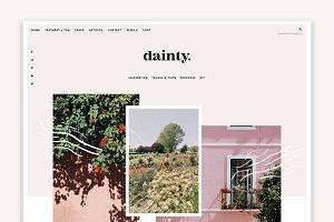 Dainty - Blog & Shop WordPress Theme
