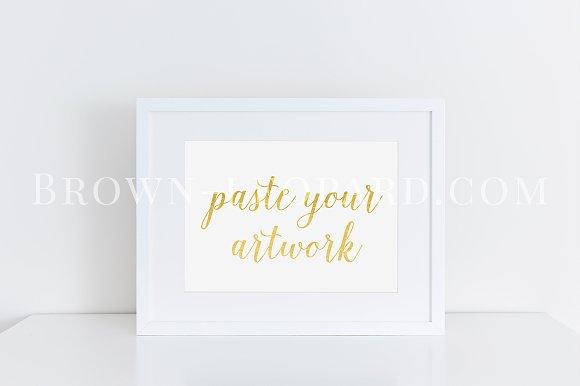 58d063ff1bb0 Clean white frame mockup (40) A4 ~ Product Mockups ~ Creative Market
