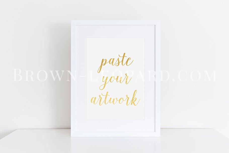 5bffbd0c3bda Clean white frame mockup (41) A4 ~ Print Mockups ~ Creative Market