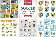 Soccer Icons & Stickers