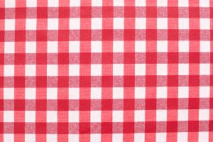 Red picnic pattern