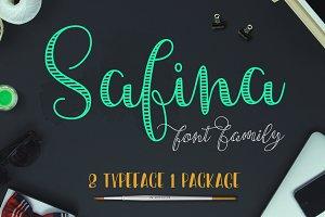 Safina Font Family (45% off)