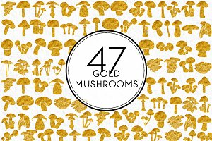 Gold Mushrooms