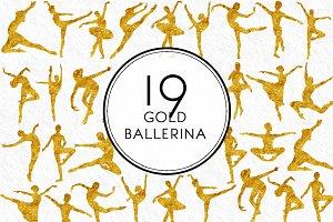 Gold Ballerina