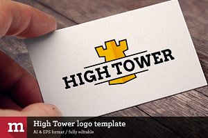 High Tower logo template