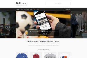 Delirium - WooCommerce & Blog Theme