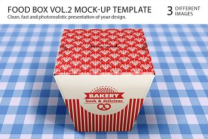 Food Box Vol.2 Mock-up Template