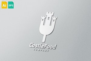 Castle Food Logo