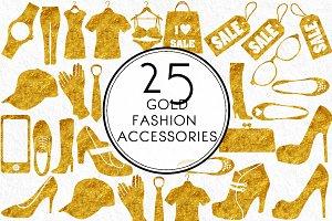 Gold Fashion Accessories
