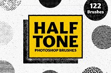 HALFTONE - Brushes for Photoshop by  in Brushes
