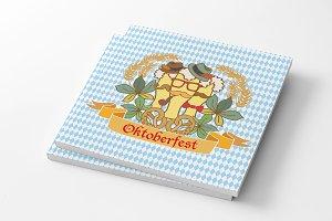 Hipster Oktoberfest Logotype