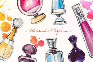 Perfume Watercolor set