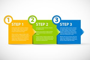 Three Steps Template