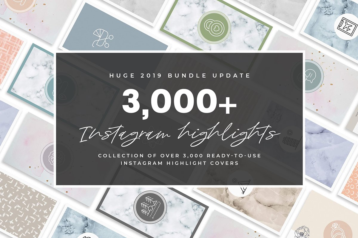 3,000+ Instagram Highlight Covers