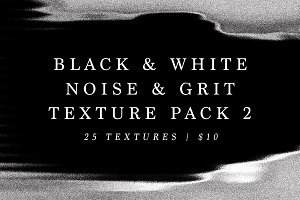 B&W Noise and Grit Texture Pack 2