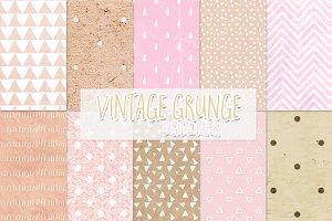 Vintage grunge patterns