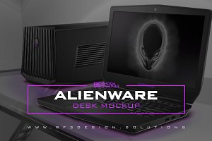 Alienware: Desk Mockup