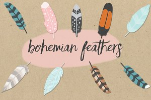 Bohemian Feathers Pack