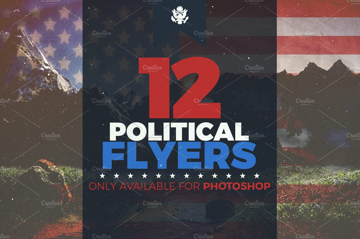 campaign mailer template - ultimate political flyer bundle flyer templates
