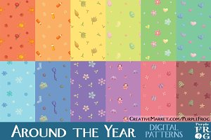 AROUND THE YEAR - Digital Patterns