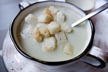 Potato cream soup by  in Food & Drink